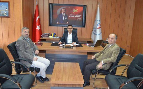 Balıkesir Gençlik Spor İl Müdürü Lokman Arıcıoğlu'nu ziyaret
