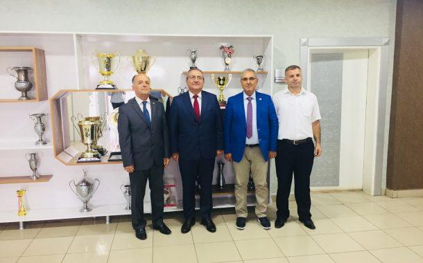 TEMAD Balıkesir İl Başkanlığı Balıkesirspor Başkanını Ziyaret Etti