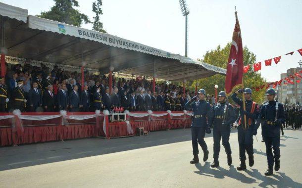 TEMAD Balıkesir İl Başkanlığı 30 Ağustos Resepsiyonu ve Törenlerine katıldı.