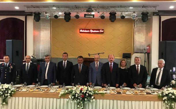 TEMAD Balıkesir İl Başkanlığı Valilik tarafından Düzenlenen Bayramlaşmaya Katıldı.