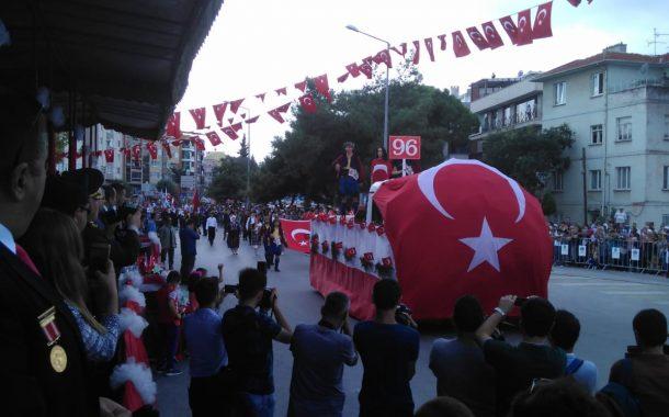 TEMAD Balıkesir İl Başkanlığı Balıkesir Kurtuluş Törenlerine Katıldı.