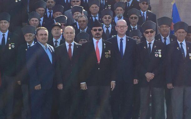 TEMAD Balıkesir il Başkanlığı 19 Eylül Gaziler Günü düzenlenen programa katıldı.