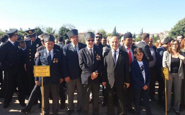 TEMAD Balıkesir il Başkanlığı 29 Ekim Cumhuriyet Bayramı Çelenk sunma törenine Katıldı
