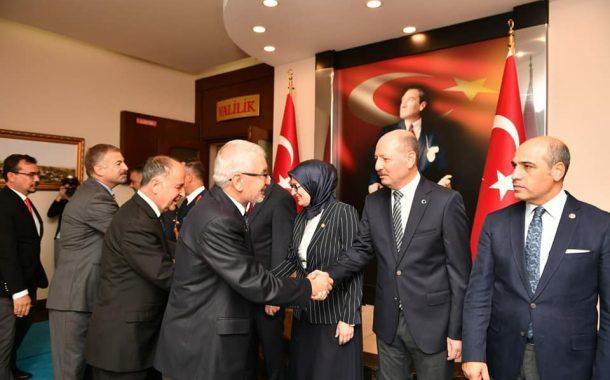 TEMAD Balıkesir İl Başkanlığı 29 Ekim Cumhuriyet Bayramı Valilikte tebrik kabulüne katıldı.