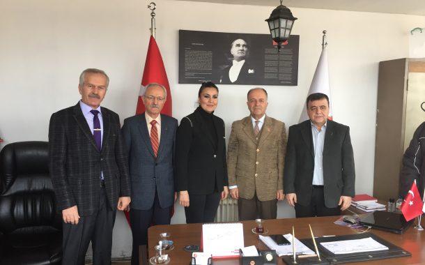 TEMAD Balıkesir İl Başkanlığını CHP Altıeylül Belediye Başkan Adayı Ziyaret Etti
