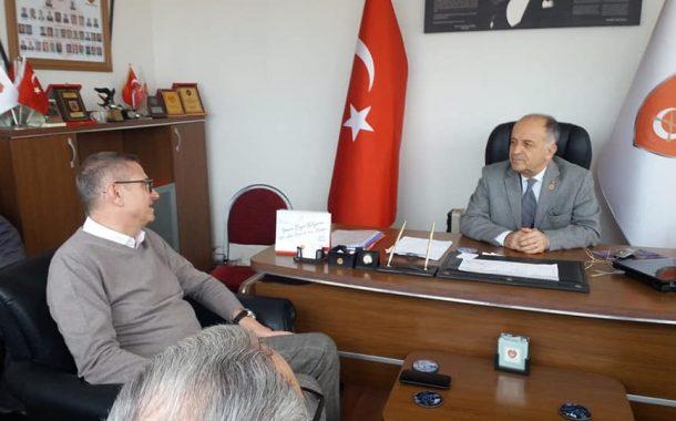 TEMAD Balıkesir İl Başkanlığını CHP Karesi Belediye Başkan Adayı Ziyaret Etti