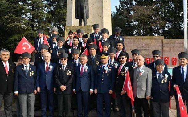 TEMAD Balıkesir İl Başkanlığı Atatürk'ün Balıkesir'e Gelişi Törenlerine Katıldı