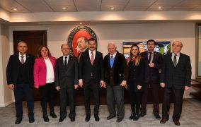 TEMAD Balıkesir İl Başkanlığı Büyükşehir Belediye Başkanına Hayırlı Olsun Ziyaretinde Bulundu.