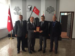 TEMAD,Milli Savunma Üniversitesi Kara Astsubay Meslek Yüksek Müdürü Prof.Dr.Nurettin ACIR'ı ziyaret etti.