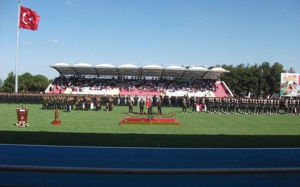 Kara Astsubay Meslek Yüksek okulu Diploma ve Sancak Devir Teslim Töreni