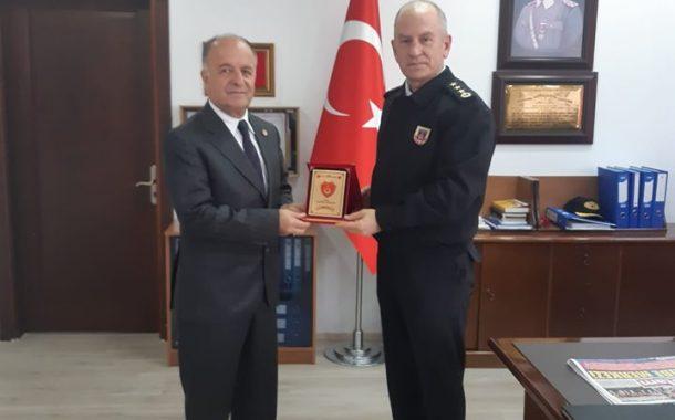 TEMAD Balıkesir İl Başkanlığı İl Jandarma Komutanlığı'nı Ziyaret Etti.