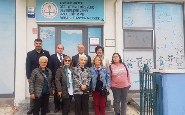 TEMAD Balıkesir İl Başkanlığı Obidev'i Ziyaret Etti.